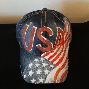 Accessories - USA FLAG HAT